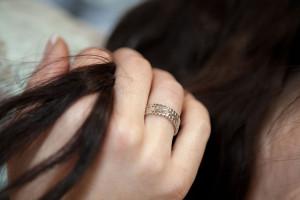 Moesmycken.se - Handgjorda ringar, halsband och örhängen - Ring Trio