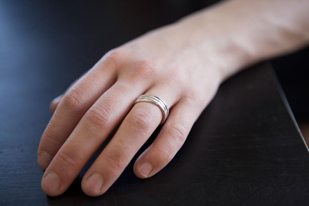 Moesmycken.se - Handgjorda ringar, halsband och örhängen - Ring Spiral