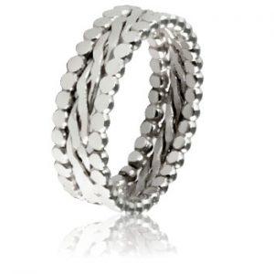 Moesmycken.se - Handgjorda ringar, halsband och örhängen - Ringen Trio