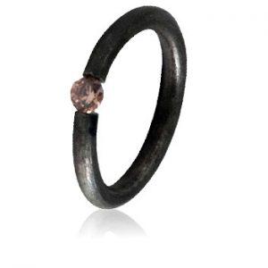 Moesmycken.se - Handgjorda ringar, halsband och örhängen - Ring Tira, orange