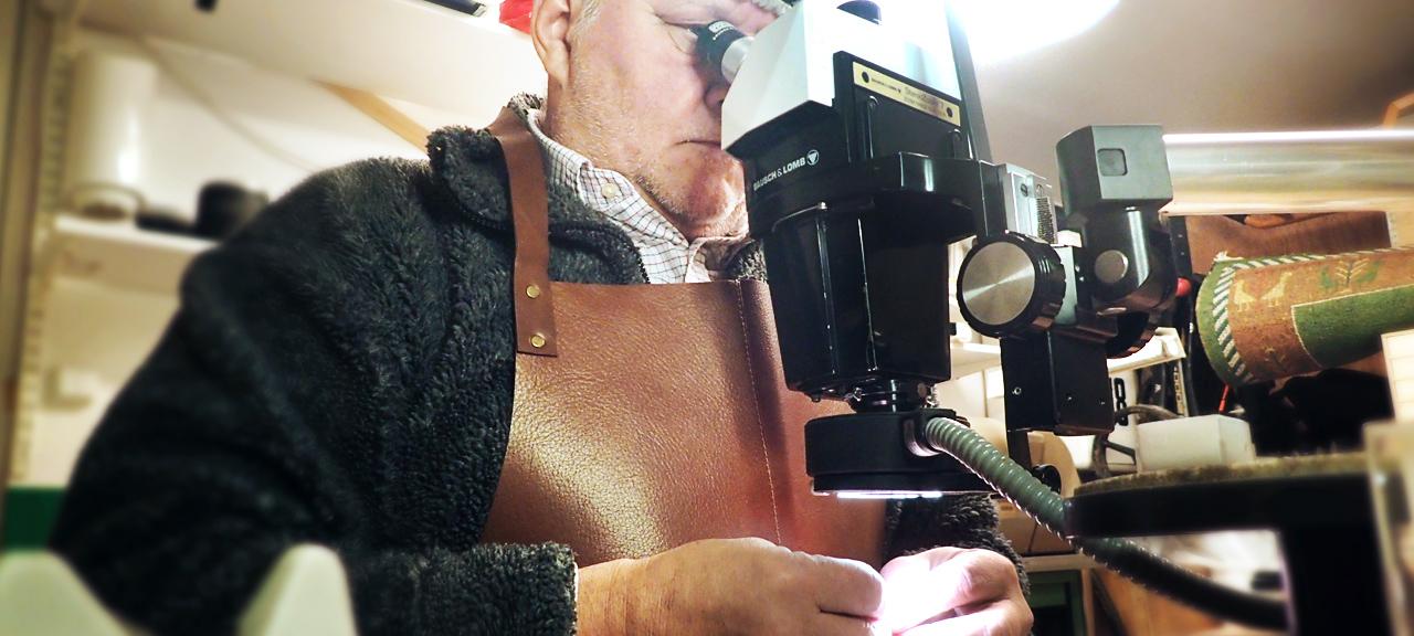 Moesmycken.se - Handgjorda ringar, halsband och örhängen - Mikroskop